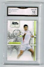 2007 Novak Djokovic Ace Authentic Rookie Gem Mint 10 #16