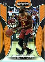 2019-20 Panini Prizm Draft Picks MARIAL SHAYOK Orange Prizm #'D 098/149