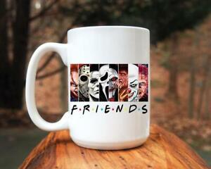 Friends Horror, Halloween Mugs Best Gift For Friend And Family, Birthday, Ann...