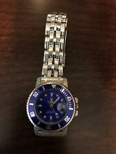 Womens Croton Watch with Blue Dial