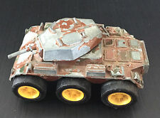 Vintage 70's Tootsietoy Mark 2 Armored Car Tank Diecast Chicago USA