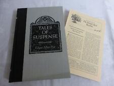 Tales Of Suspense by Edgar Allan Poe - Reader's Digest (Hardback, 1992) - GOOD