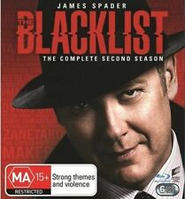 The Blacklist : Season 2 (Blu-ray, 2018, 6-Disc Set)