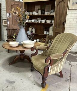 19th Century Australian Cedar Arm Chair