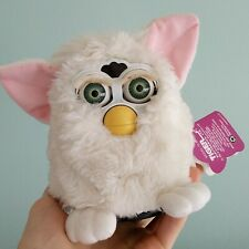 Original White 1998 Furby Model 70-800 Tiger Electronics with Instructions