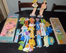 Whitman Barbie and Ken Paper Dolls. Newport. Vintage 1974 Mattel