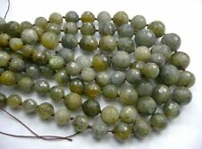 "CLEARANCE -- 18.5"" Labradorite Graduate ronde à facettes 8 mm à 16 mm Gemstone Beads"