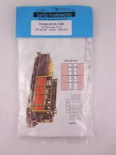 More details for railway o / ho scale banta modelworks kit on30 inspection cab bachmann 4-4-0 new