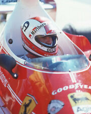 1975 Driver CLAY REGAZZONI Glossy 8x10 Photo Formula 1 U.S. Grand Prix Poster
