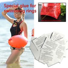 10pcs Inflatable Swimming Pool PVC Vinyl Puncture Repair Patch Airbeds Toys Kit