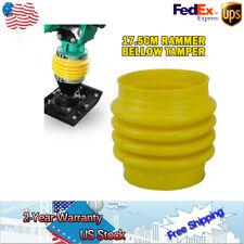 "8.7"" Jumping Jack Bellows Boot For Wacker Rammer Compactor Tamper Yellow"