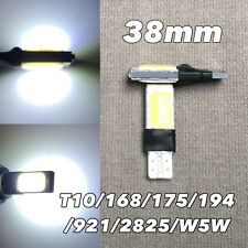 PARKING LIGHT T10 COB LED W5W 168 175 194 2825 6000K WHITE WEDGE bulb W1 J