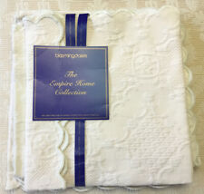 Bloomindale's Empire Home Collection Ivory Napkin Set Portugal New
