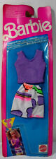 MATTEL 1991 BARBIE FASHION FINDS FASHIONS EUROPEAN CLOTHES SET # 2984 MOC UNUSED