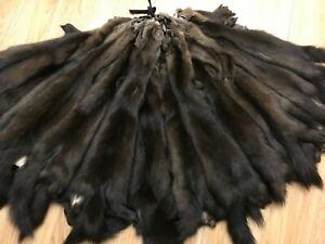 Sable Fur pelt, sable fur skin, real fur, skins for sewing, Russian sable
