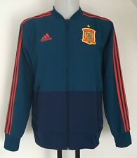 Spain Tri-blue Presentation Jacket by adidas Size Men's Large With Tag