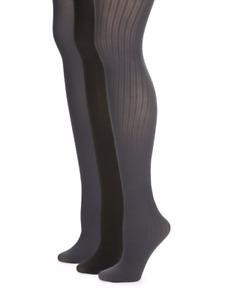 "Calvin Klein® Women's 3-Pack  Microfiber Tights  "" Essentials & Semi opaque """