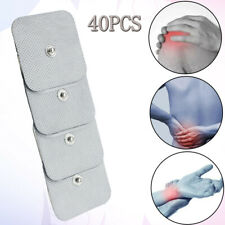 """20pairs Snap On Replacement Pads For Electrode TENS Unit & Pulse Massager 2x2""""US"""