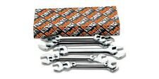 Beta Tools 55/S8 Open End Spanners Set 8Pc from 6mm to 22mm Chrome Plated