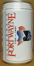 PEPSI CELEBRATE FORT WAYNE 1794-1994 empty Soda CAN, INDIANA, ILLINOIS, NEW YORK