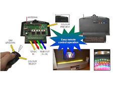 VARIATEUR ET SELECTEUR DE COULEUR POUR LED RVB AVEC TELECOMMANDE RF
