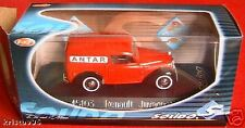 RENAULT JUVAQUATRE SOLIDO ANTAR ROUGE RED BOITE 1/43