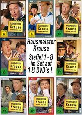 18 DVDs  * HAUSMEISTER KRAUSE - STAFFEL 1 - 8 IM SET ~ Tom Gerhardt # NEU OVP +