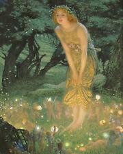 Midsummer Dream by Edward Robert Hughes. Poster Print (16 x 20)