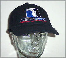 New ROADRIDER Motorcycle Accessories black acrylic/wool logo ball cap - L/XL