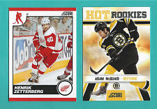 2010-11 Score Hockey GLOSSY PARALLEL - You Pick To Complete Your Set