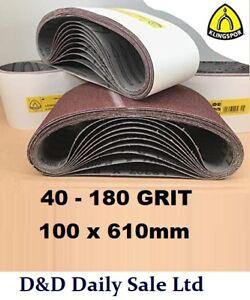 Sanding Belts 100x610 For Sale Ebay
