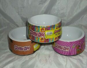 Scooby Doo Dog Bowl Pet Water Food Melamine non slip base 20 cm Feeder NEW
