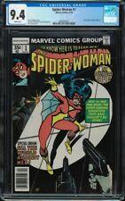 Spider-Woman #1 CGC 9.4 White Jessica Drew new origin Marvel