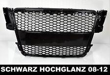 Für Audi A5 8T Vorfacelift Wabengrill Kühlergrill Schwarz DTM RS Look RS5  #61