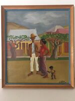 "John Gwillim Original Oil Painting on Board, Signed, Framed, 11 1/2"" x 13 1/2"""