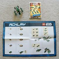 LEGO Star Wars - Rare - 911612 Acklay Foil Pack w/ Instructions/poster
