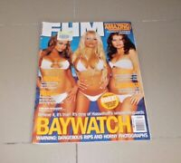 FHM Issue 59 March 2003 Baywatch includes huge posters Pamela Anderson