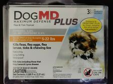 Dog Md PlusMaximum Defense Dog 5-22 lbs Flea Eggs Lice & Ticks Topical Fipronil