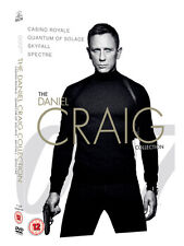 James Bond The Daniel Craig Collection 4pack DVD