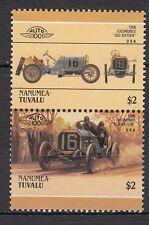 H157) Timbres Neufs MNH (Locomobile Old Sixteen/NANUMEA-TUVALU /CARS-AUTOMOBILES