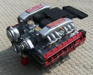 BUILT POCHER 1:8 scale FERRARI TESTAROSSA ENGINE MODEL KIT!