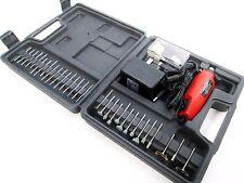 Amtech 60pc Mini Drill & Bit Set Rotary Tool Grinding Hobby Craft Sanding V2560