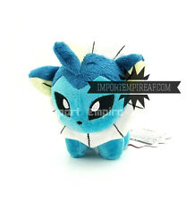 POKEMON VAPOREON PELUCHE pupazzo y plush figure sylveon Aquali 134 eevee Aquana