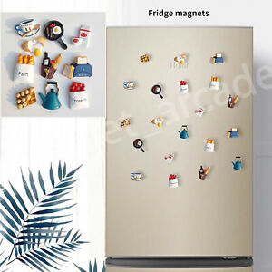 Fridge Magnet Kids Toys Kitchen Food sticker Child DIY Home Docor