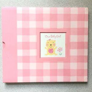 NEW UNUSED Baby Girl Keepsake Memory Photo Book Hallmark