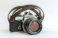 Ltd. Edition Vintage Leather Camera Strap for Leica, Sony etc (Dark Brown, 95cm)