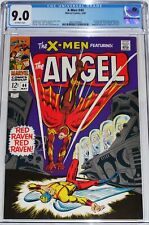 X-Men #44 CGC 9.0 1st Silver Age Red Raven appearance. Origin of Iceman