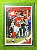 DANIEL SORENSEN ROOKIE CARD JERSEY #49 CHIEFS RC 2018 Panini Donruss Football rc