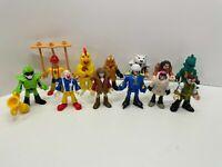 Lot of 12 Imaginext Figures - Series 4, 6, 8, 10 & DC comics