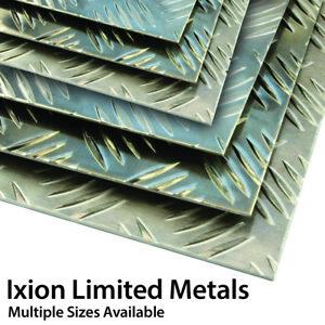 Aluminium Tread Plate Chequer Kick Plate Treadplate 5Bar Sheet Checker 5754-H114